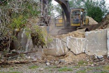 Bulkhead removal